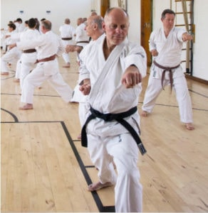 Adults karate