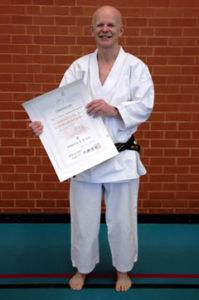 Graham Hopkins Wado-Ryu Karate Do instructor in Surrey and Hampshire