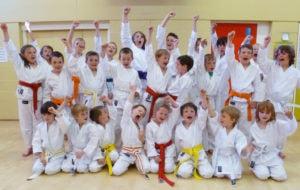 Kids classes at Guildford, Farnham, Aldershot and Haslemere Karate Academy