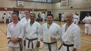 Farnham Karate Academy 1st Dans
