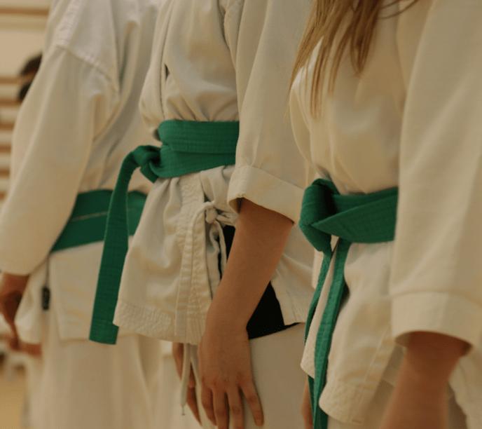 Beginners karate classes at Guildford, Farnham, Haslemere and Aldershot