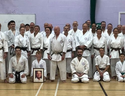 Wado Academy New Years training seminar