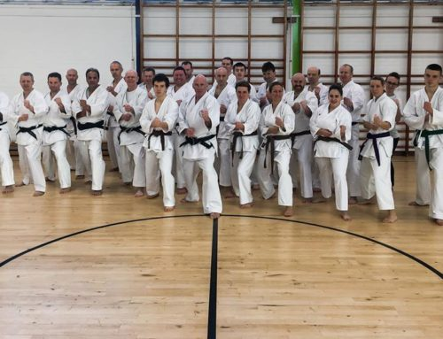 Promotion to 8th Dan of Sensei Arthur Meek